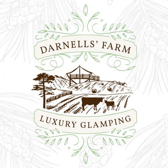 Company Branding - Darnells' Farm Luxury Glamping