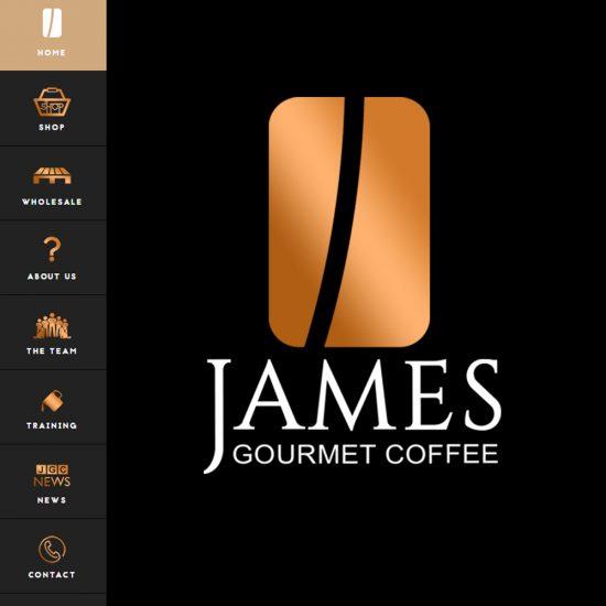 Web Design Ross-on-Wye - James Gourmet Coffee