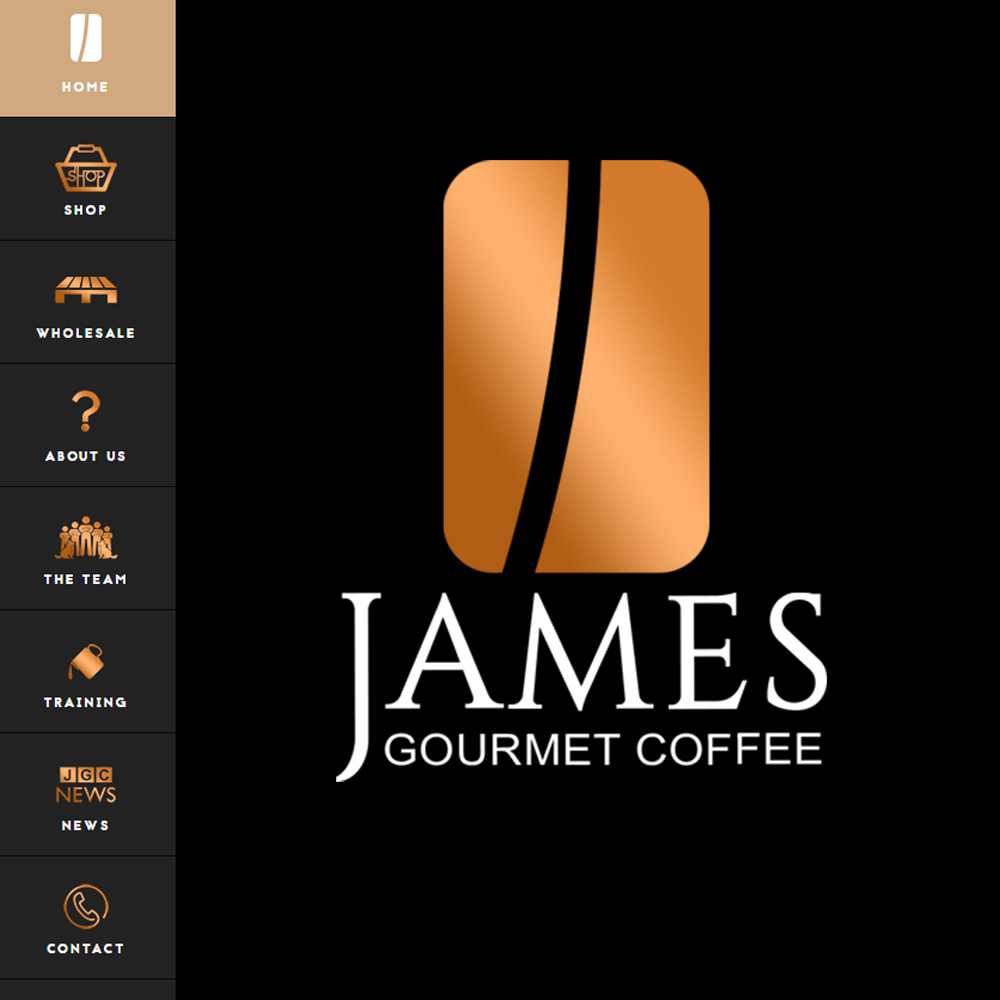 Web Design Ross-on-Wye - James Gourmet Coffee