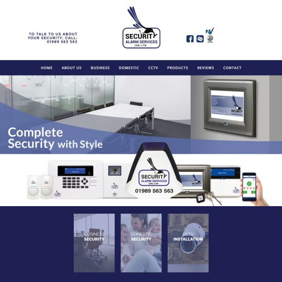 Web Design Ross-on-Wye - Security Alarm Services